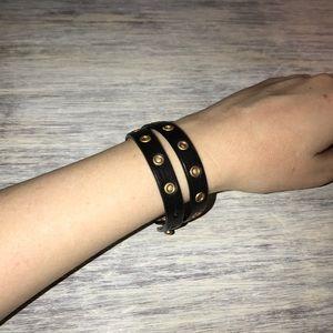 Leather Wrap bracelet BY Jewel Kade
